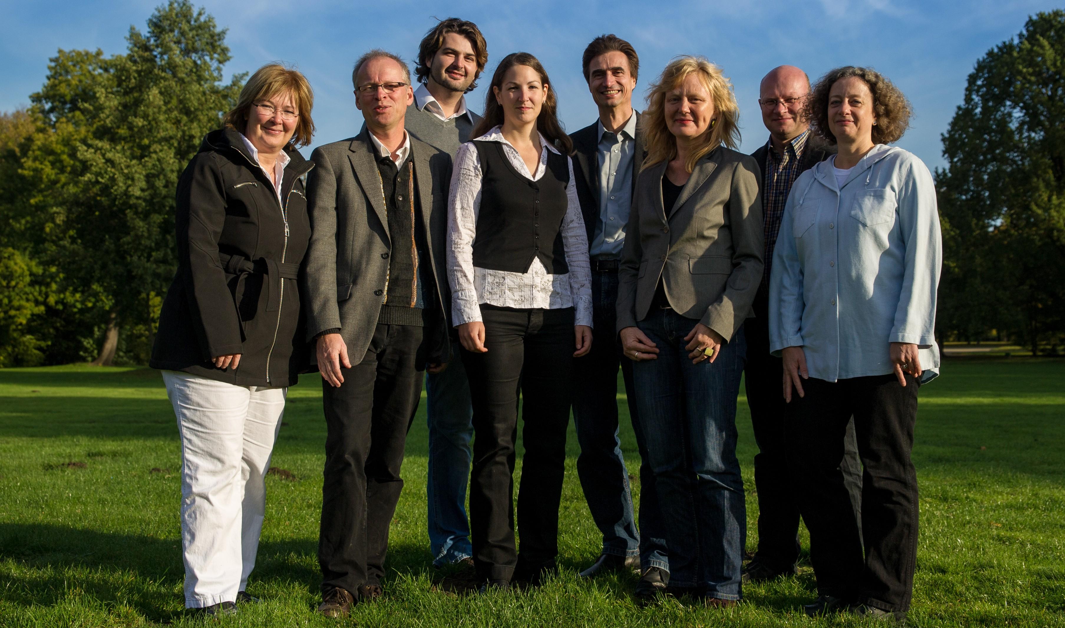 Das Team der Planungsgruppe Umwelt aus Hannover